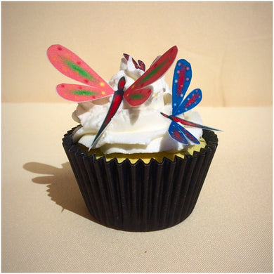 Edible Wafer Dragonflies