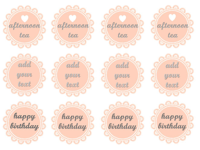 Vintage Doily Toppers | Set of 12
