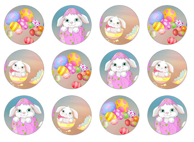 Easter Bunny Cupcake Toppers for Easter Baking
