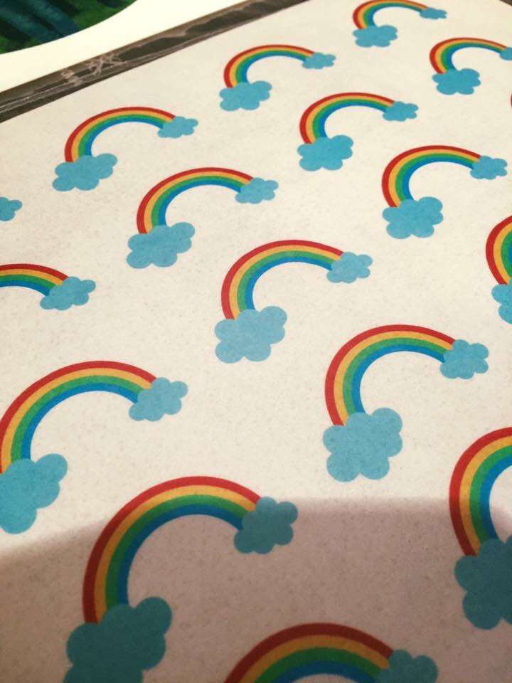 Rainbows Cupcake Toppers