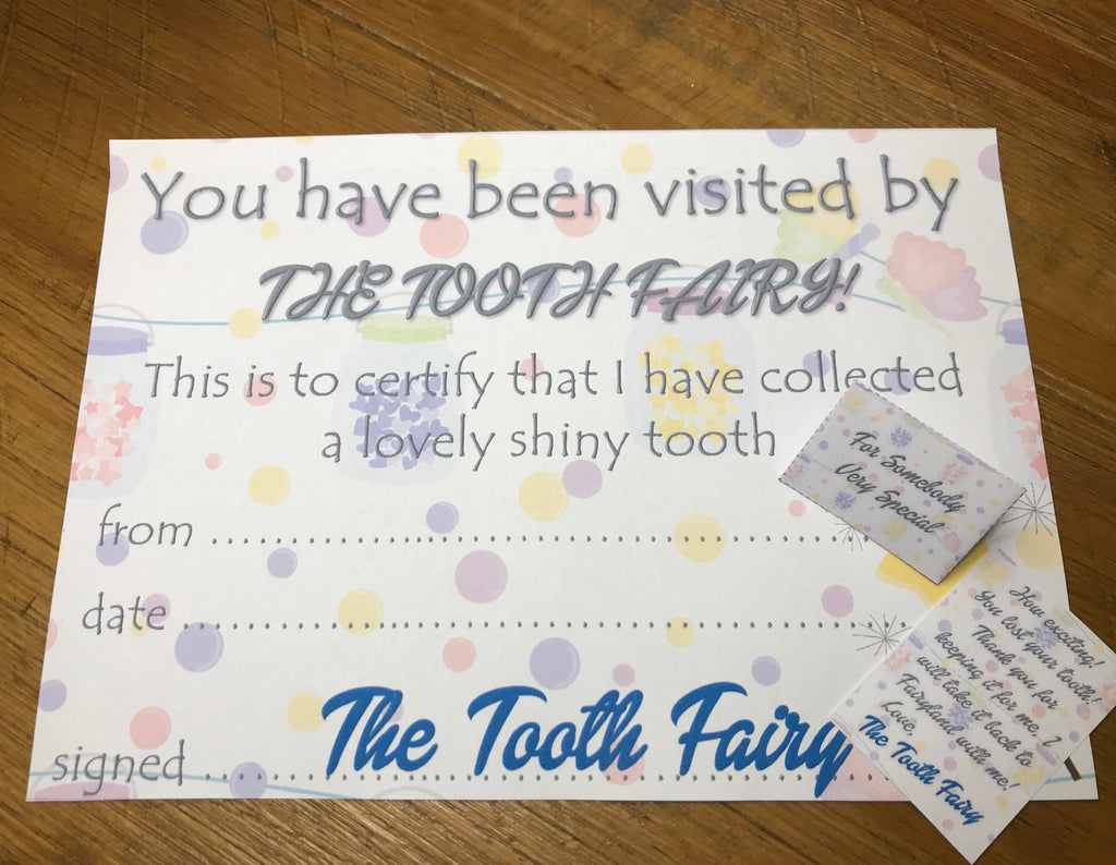 Tooth Fairy Mini Letter