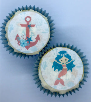Mermaid Collection Cake Toppers & Cupcake Toppers