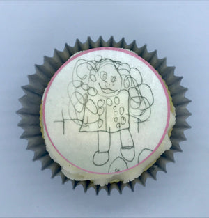 Your Childs Drawing on a Cake!
