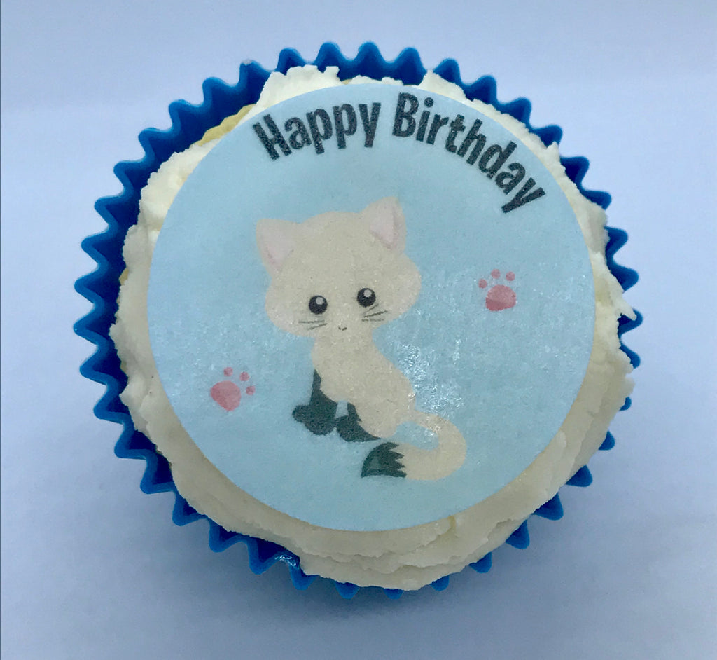 Cats Cupcake Toppers