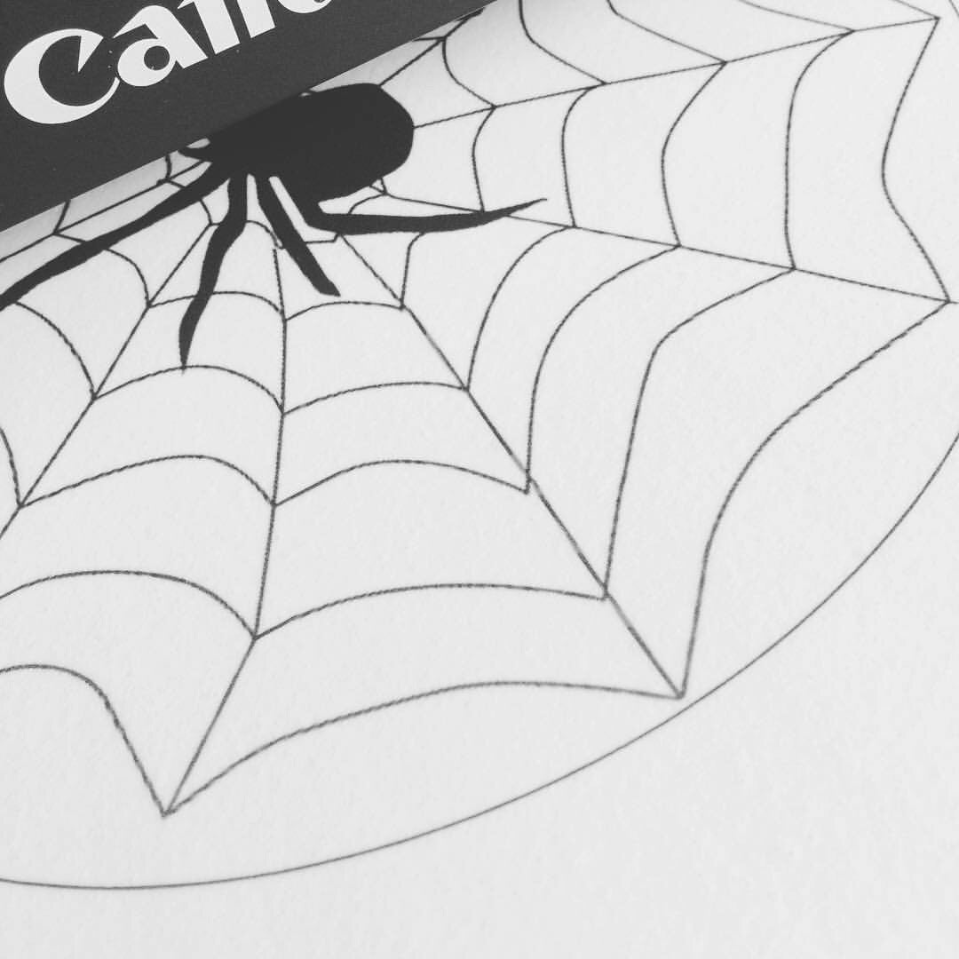 Spiders Web Cake Topper & Cupcake Toppers