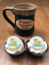 Dad Cupcake Toppers | Edible Beer Cake Topper