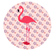 Hawaiian Cake Toppers UK | Tropical Edible Cupcake Toppers | Flamingo