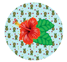 Hawaiian Cake Toppers UK | Tropical Edible Cupcake Toppers | Tropical Flower