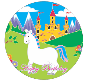 Unicorn Cupcake Toppers UK | Edible Unicorn Cake Decoration
