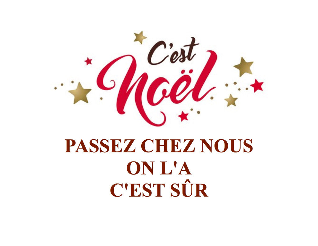 Noël arrive plus vite qu'on pense :)