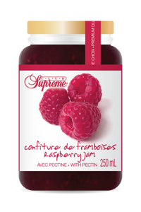 Supreme Confiture de framboises 250ml
