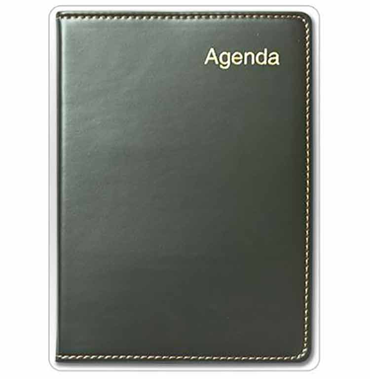 Agenda de 4CM x 18-1/2CM. - Dollar Royal