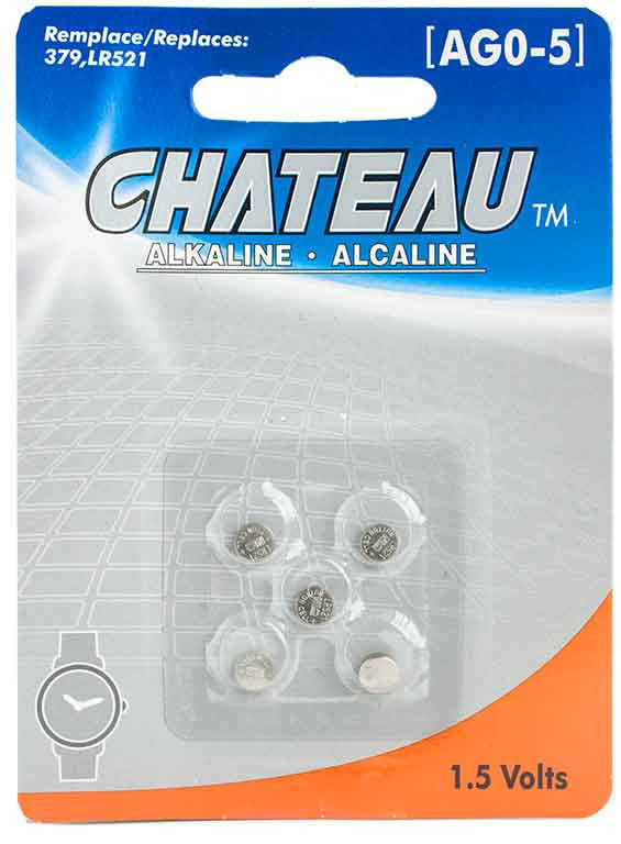 Batterie alcaline 1.5 Volts (AG0-5) - Dollar Royal
