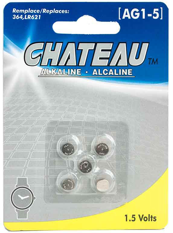 Batterie alcaline 1,5 Volts (AG1-5) - Dollar Royal