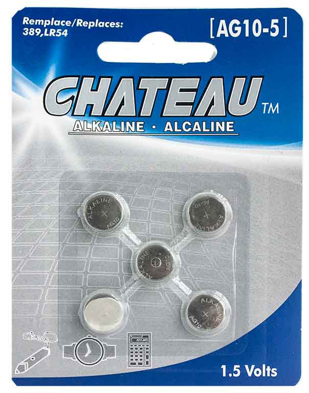 Batterie alcaline 1.5 Volts (AG10-5) - Dollar Royal