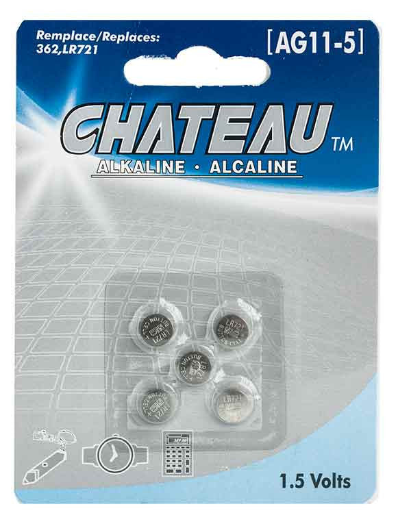 Batterie alcaline 1.5 Volts (AG11-5) - Dollar Royal