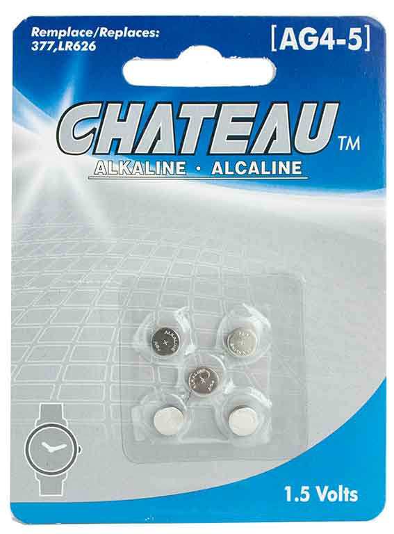 Batterie alcaline 1.5 Volts (AG4-5) - Dollar Royal
