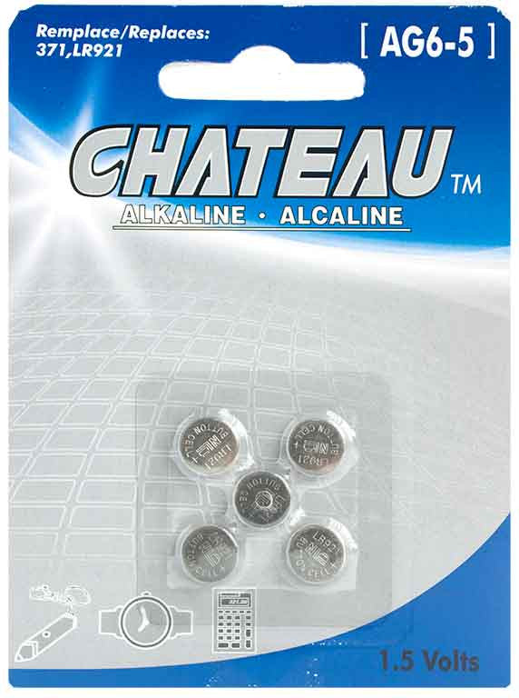 Batterie alcaline 1,5 Volts (AG6-5) - Dollar Royal