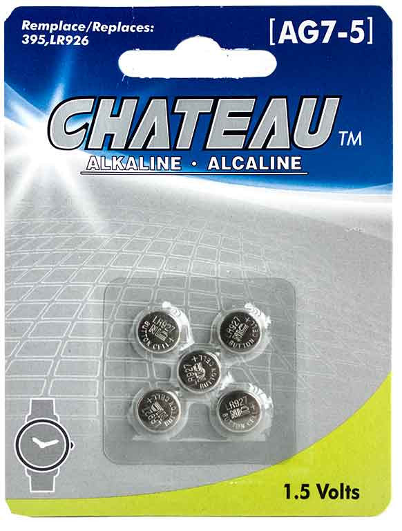 Batterie alcaline 1,5 Volts (AG7-5) - Dollar Royal