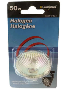 Ampoule halogène 50w (mr16/12v) - Dollar Royal