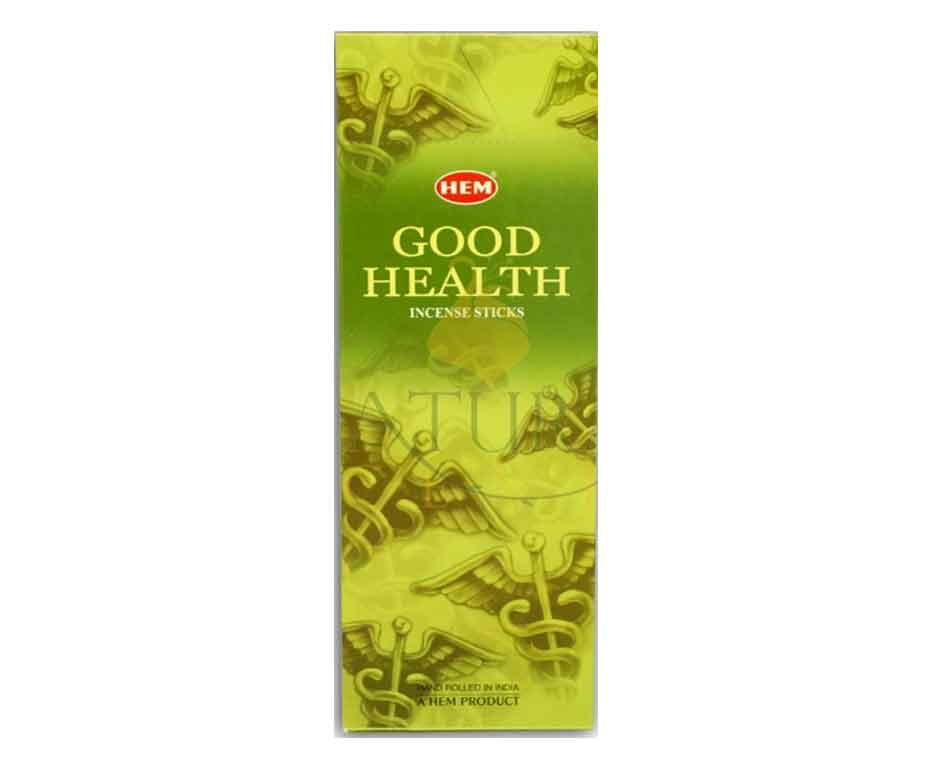 Natural Scents, bâtons encens hexagonaux, ''Good Health''