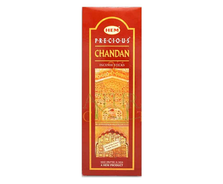 Natural Scents, bâtons encens hexagonaux, ''Precious Chandan''