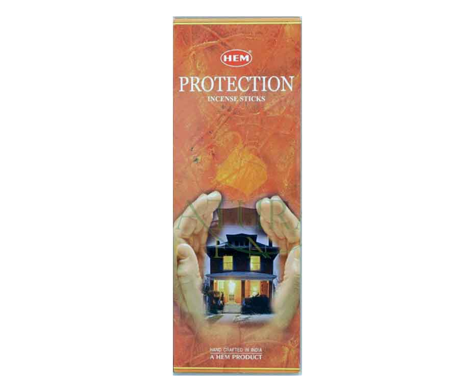 Natural Scents, bâtons encens hexagonaux, Protection