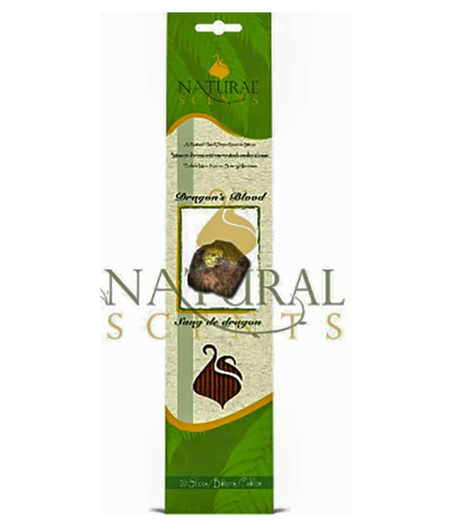 Natural Scents, encens sang de dragon