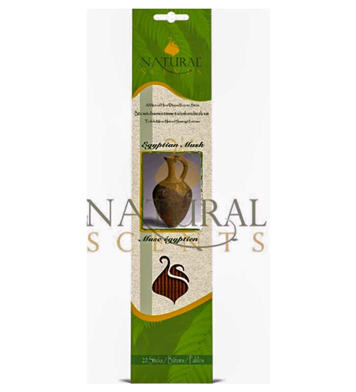 Natural Scents, encens Egyptian Musk