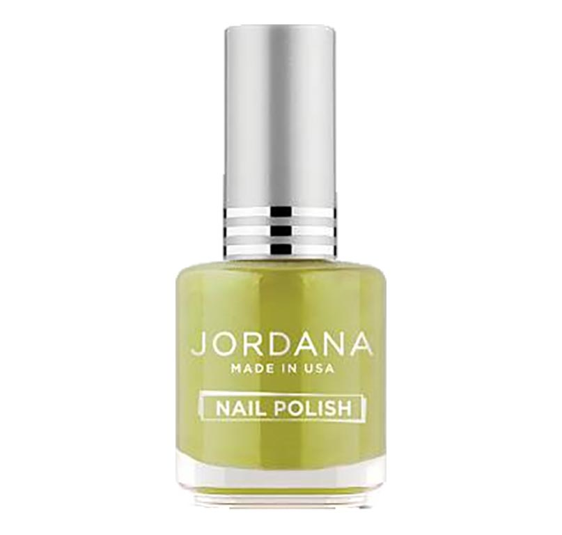 Jordana, vernis à ongles Good Luck Charm (vert mousse)
