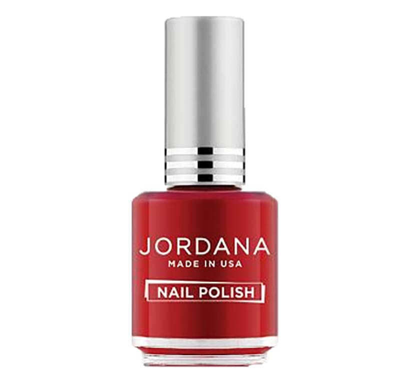 Jordana, vernis à ongles, Holiday Red (rouge Noel)