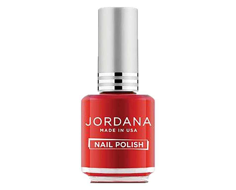 Jordana, vernis à ongles, Hot Red, (rouge flamboyant)