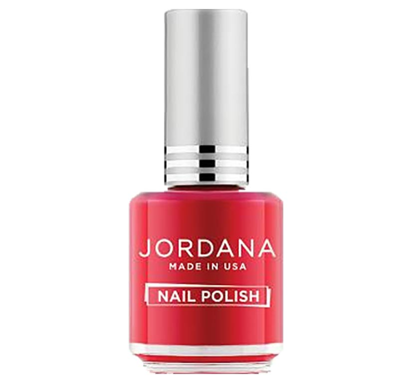 Jordana, vernis à ongles, Tender Coral, (rouge corail)