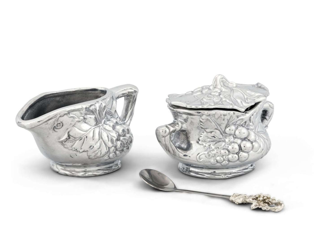 Grape Creamer Set from Arthur Court Designs