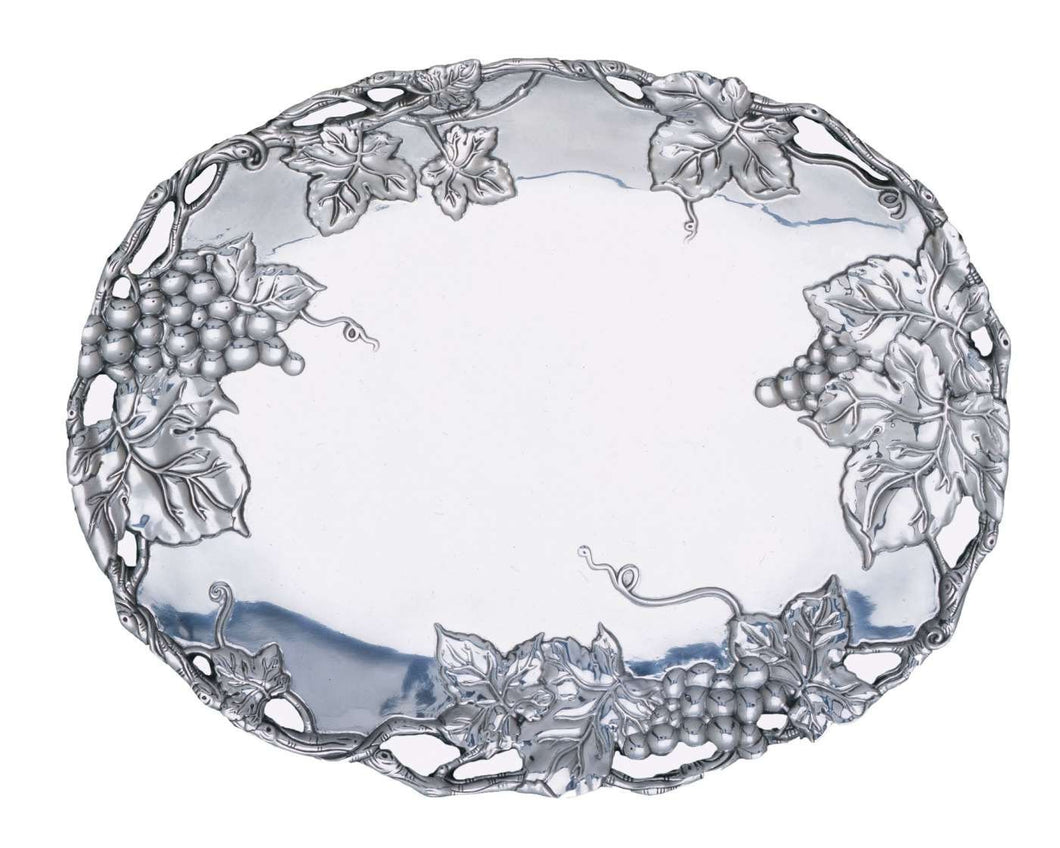 Oval Platter - Grape from Arthur Court Designs