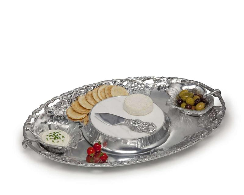 Grape Entertainment Tray from Arthur Court Designs