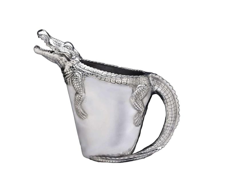 Alligator Pitcher from Arthur Court Designs