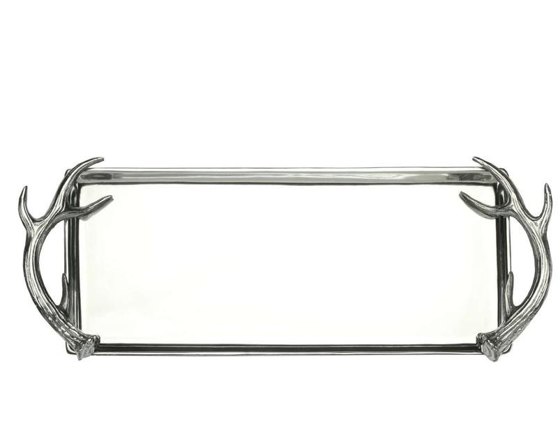Antler Oblong Tray from Arthur Court Designs