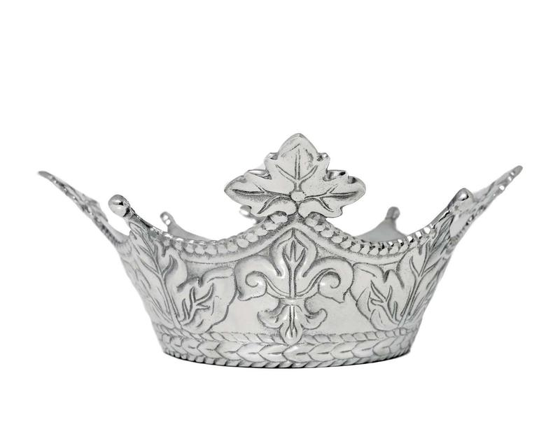 Mardi Gras Crown Bowl from Arthur Court Designs