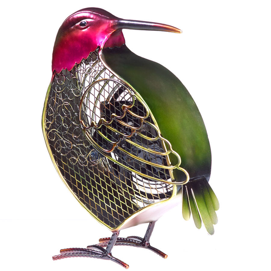 Hummingbird Figurine Fan - Small