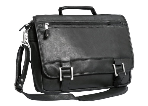 Copper Canyon Expandable Briefcase by Canyon Leather