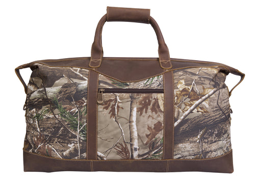 REALTREE Camo Duffel Bag by Canyon Leather