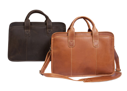 Buffalo Valley Briefcase by Canyon Leather