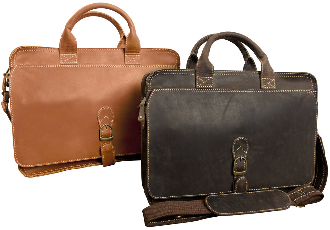 Texas Canyon Briefcase by Canyon Leather