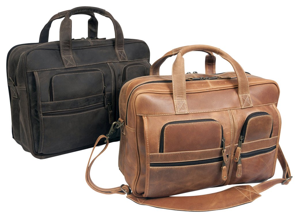 Casa Grande Canyon Computer Briefcase by Canyon Leather