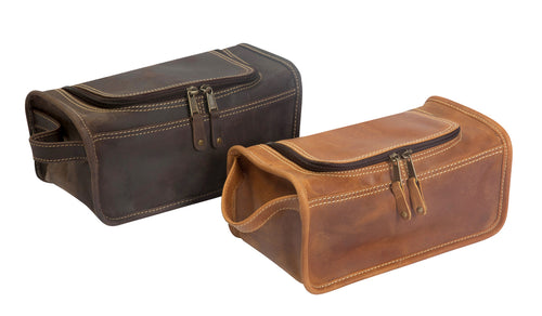 Taylor Falls Travel Kit by Canyon Leather