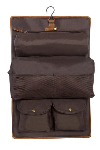 Buffalo Mountain Travel Kit by Canyon Leather
