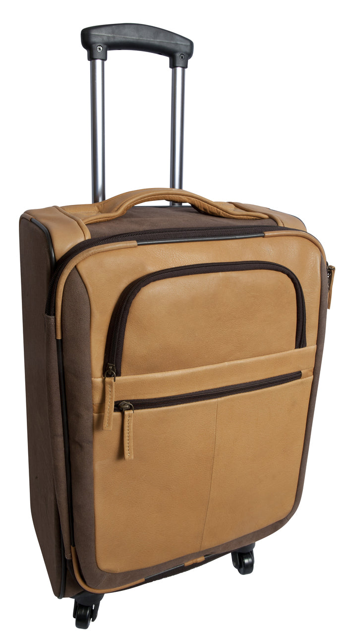 Switzer Canyon Rolling Carry-On by Canyon Leather