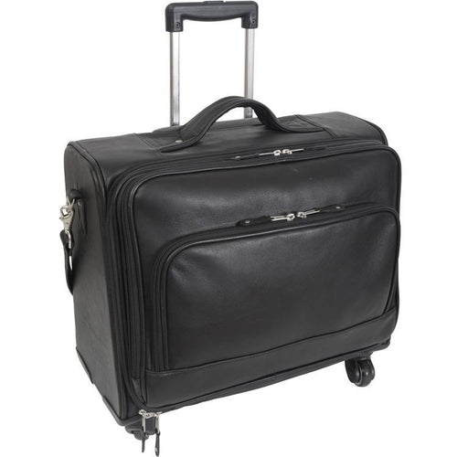 Carlin Canyon Wheeled Briefcase/Overnight by Canyon Leather