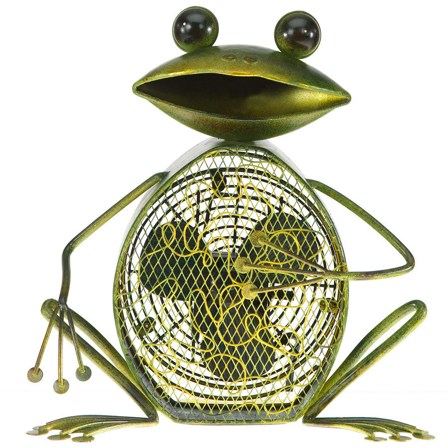Frog Figurine Fan